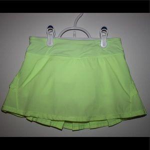 Ivivva Girl's Lime Green Set The Pace Skirt